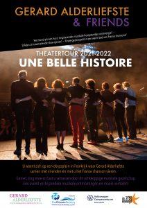 Gerard Alderliefste and friends Une belle histoire theatertour